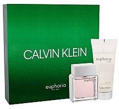 Düfte, Parfümerie und Kosmetik Calvin Klein Euphoria Men - Duftset (Eau de Toilette 50ml + Duschgel 100ml)