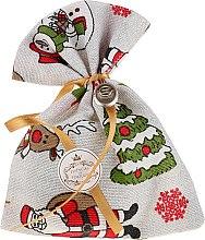 Düfte, Parfümerie und Kosmetik Weihnachtliches Duftsäckchen mit Naturseife Eukaliptus - Essencias De Portugal Tradition Charm Air Freshener