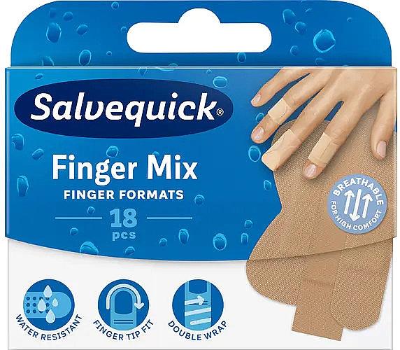 Fingerpflaster - Salvequick Finger Mix