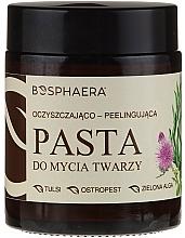 Düfte, Parfümerie und Kosmetik Reinigende Peelingpaste für das Gesicht mit Grünalgen - Bosphaera