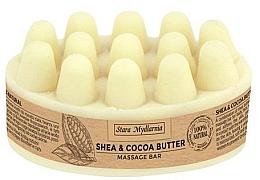 Düfte, Parfümerie und Kosmetik Massageöl für den Körper mit Shea- und Kakaobutter - Stara Mydlarnia Body Mania Shea & Cocoa Butter Massage Bar