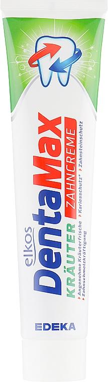 Zahnpasta mit Kräuterextrakt - Elkos Dental Denta Max