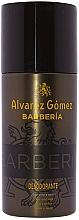 Düfte, Parfümerie und Kosmetik Alvarez Gomez Agua De Colonia Concentrada Barberia - Deospray