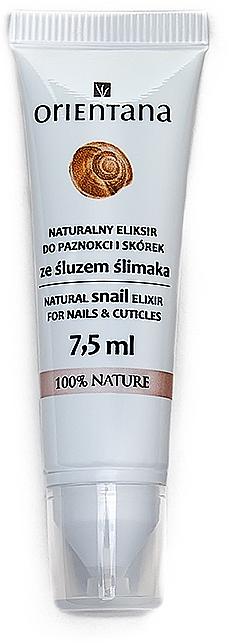 Natüliches Elixier für Nagel und Nagelhaut mit Schneckenschleim - Orientana Natural Snail Elixir For Nails&Cuticles