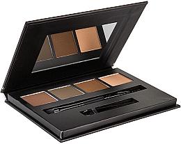 Düfte, Parfümerie und Kosmetik Augenbrauen-Palette - Bellapierre Cosmetics Brow Palette