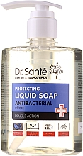 Düfte, Parfümerie und Kosmetik Antibakterielle Flüssigseife mit Teebaum und Lavendel - Dr. Sante Antibacterial Liquid Soap Double Action