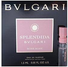 Düfte, Parfümerie und Kosmetik Bvlgari Splendida Rose Rose - Eau de Parfum (Tester)