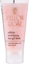 Düfte, Parfümerie und Kosmetik Żelowa maska tonizująca do twarzy (tubka) - Yellow Rose Cellular Revitalizing Gel Mask