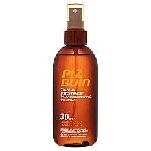 Düfte, Parfümerie und Kosmetik Schutzöl für schnellen Teint - Piz Buin Tan&Protect Tan Accelerating Oil Spray SPF30