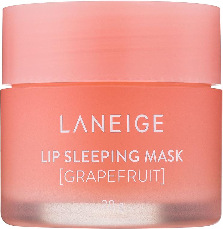 Lippenmaske für die Nacht mit Grapefruit - Laneige Lip Sleeping Mask Grapefruit