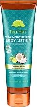 Düfte, Parfümerie und Kosmetik Feuchtigkeitsspendende Körperlotion mit Kokosnuss und Limette - Tree Hut Shea Moisturizing Body Lotion Coconut Lime