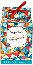 Düfte, Parfümerie und Kosmetik Duftkerze im Glas Honeysuckle - Song of India Honeysuckle Candle