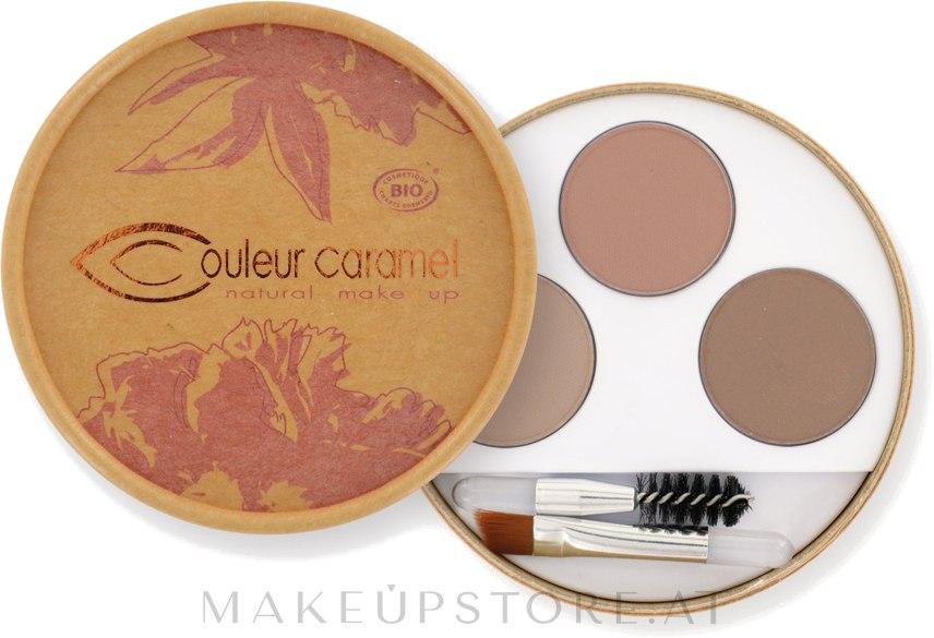 Augenbrauen-Kit zum Formen & Definieren - Couleur Caramel Eyebrow Kit — Bild 928 - Blond
