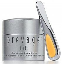 Düfte, Parfümerie und Kosmetik Anti-Aging-Augencreme mit Sonnenschutz - Elizabeth Arden Prevage Anti-Aging Eye Cream SPF 15