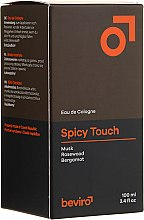 Düfte, Parfümerie und Kosmetik Be-Viro Spicy Touch Men?s Only - Eau de Cologne