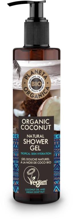Feuchtigkeitsspendendes Duschgel mit Bio Kokosöl - Planeta Organica Organic Coconut Natural Shower Gel