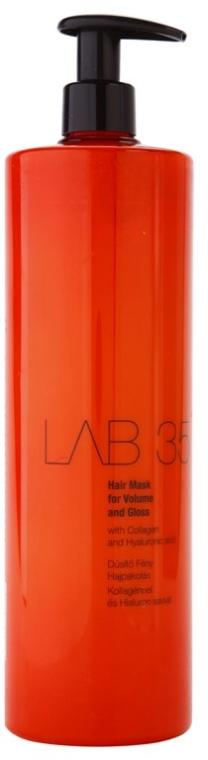 Haarmaske für mehr Volumen und Glanz mit Kollagen und Hyaluronsäure - Kallos Cosmetics Lab35 Mask — Bild N2