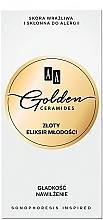 Düfte, Parfümerie und Kosmetik Anti-Falten Luxus Serum Elixier mit 24K Gold - AA Golden Ceramides Golden Elixir of Youth