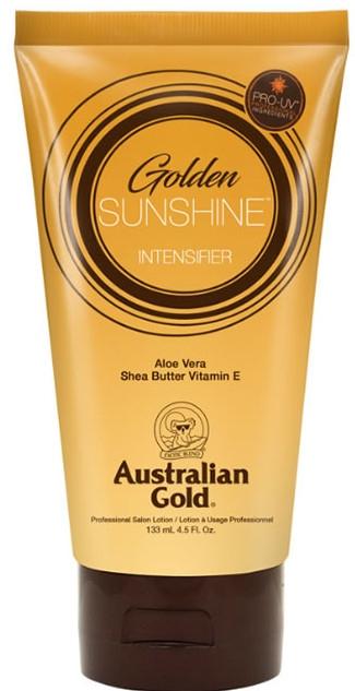 Bräunungsbeschleuniger mit Aloe Vera, Sheabutter und Vitamin E - Australian Gold Sunshine Golden Intensifier Professional Lotion