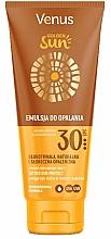 Düfte, Parfümerie und Kosmetik Sonnenschutzlotion für tätowierte Haut SPF 30 - Venus Golden Sun Lotion SPF 30