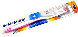 Düfte, Parfümerie und Kosmetik Zahnbürste weich Rebi-Dental M46 rosa-weiß - Mattes