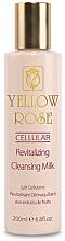 Düfte, Parfümerie und Kosmetik Feuchtigkeitsspendende und beruhigende Gesichtseinigungsmilch für alle Hauttypen - Yellow Rose Cellular Revitalizing Cleansing Milk