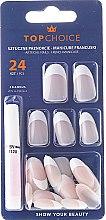 Düfte, Parfümerie und Kosmetik Künstliche Nägel French Manicure 74158 - Top Choice
