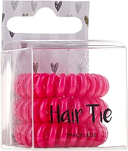 Düfte, Parfümerie und Kosmetik Haargummis 3 St. - Cosmetic 2K Hair Tie Pink