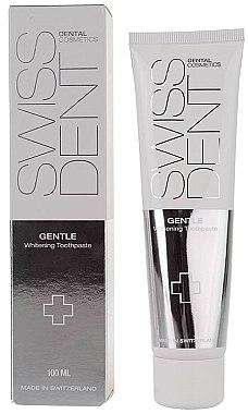 Aufhellende Zahnpasta für empfindliche Zähne Gentle - SWISSDENT Gentle Whitening Toothpaste