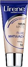 Düfte, Parfümerie und Kosmetik Mattierende Foundation - Lirene Nature Matte Foundation