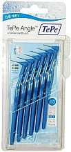 Düfte, Parfümerie und Kosmetik Interdentalbürsten 6 St. - TePe Interdental Brushes Angle Blue 0,6 mm