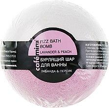 Düfte, Parfümerie und Kosmetik Badebombe Lavendel und Pfirsich - Cafe Mimi Bubble Ball Bath