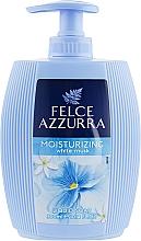 Düfte, Parfümerie und Kosmetik Feuchtigkeitsspendende Flüssigseife mit weißem Moschus - Felce Azzurra Idratante White Musk