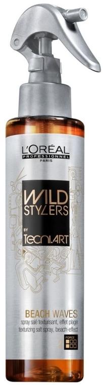 Texturierendes Salzspray für alle Haartypen - L'Oreal Professionnel Wild Stylers Beach Waves — Bild N1