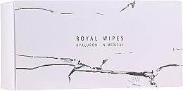 Düfte, Parfümerie und Kosmetik Feuchtigkeitsspendende und pflegende Feuchttücher für Gesicht, Augenpartie und Dekolleté - N-Medical Hyaluron Royal Wipes