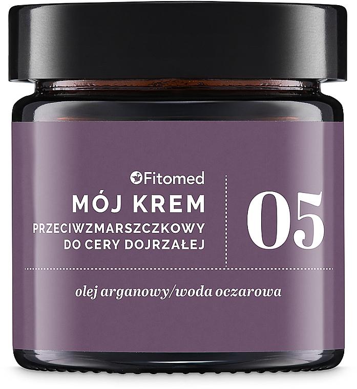 Anti-Falten Gesichtscreme mit Arganöl für trockene und reife Haut - Fitomed Anti-wrinkle Cream Nr5