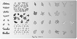 Düfte, Parfümerie und Kosmetik Stamping-Platte - Peggy Sage Stamping Plate (1 St.)