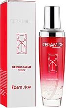 Düfte, Parfümerie und Kosmetik Feuchtigkeitsspendendes und glättendes Gesichtstonikum mit Ceramiden - FarmStay Ceramide Firming Facial Toner