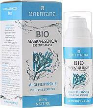 Düfte, Parfümerie und Kosmetik Essentielle Gesichtsmaske mit philippinischen Algen - Orientana Bio Essence-Mask Philippine Seaweed