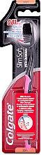 Düfte, Parfümerie und Kosmetik Zahnbürste mit Holzkohle weich schwarz-rosa - Colgate Toothbrush