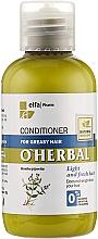 Düfte, Parfümerie und Kosmetik Haarspülung für fettiges Haar mit Pfefferminzextrakt - O'Herbal