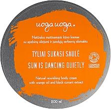 Düfte, Parfümerie und Kosmetik Feuchtigkeitsspendende Körpercreme mit Orangenöl und Johannisbeerextrakt - Uoga Uoga Moisturising Body Cream