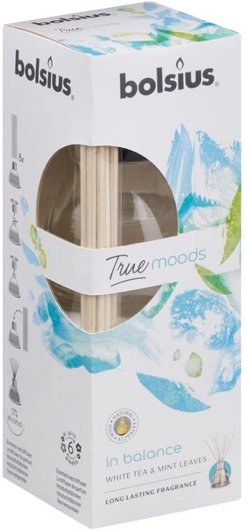 Raumerfrischer Weißer Tee & Minzblätter - Bolsius Fragrance Diffuser True Moods In Balance