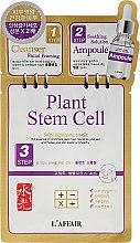 Düfte, Parfümerie und Kosmetik 3-Schritt-Gesichtsmaske mit pflanzlichen Stammzellen - Rainbow L'Affair 3-Step Plant Skin Stem Cell Skin Renewal Mask