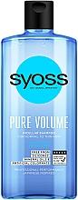 Düfte, Parfümerie und Kosmetik Mizellen-Shampoo für mehr Volumen - Syoss Pure Volume Micellar Shampoo