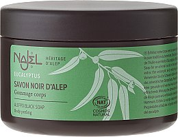 Düfte, Parfümerie und Kosmetik Schwarze Aleppo-Seife mit Eukalyptus - Najel Black Aleppo Soap Eucalyptus Body Peeling