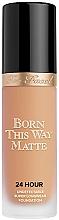 Düfte, Parfümerie und Kosmetik Langanhaltende mattierende Foundation - Too Faced Born This Way Matte 24-Hour Foundation