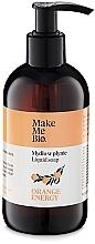 Düfte, Parfümerie und Kosmetik Flüssige Handseife Orange Energy - Make Me Bio Orange Energy Soap