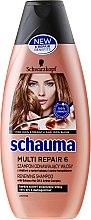 Düfte, Parfümerie und Kosmetik Reparierendes Shampoo 6 in 1 mit Babassuöl - Schwarzkopf Schauma Multi Repair 6