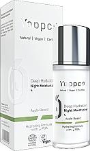 Düfte, Parfümerie und Kosmetik Feuchtigkeitsspendende Nachtcreme für das Gesicht - Yappco Deep Hydration Moisturizer Night Cream